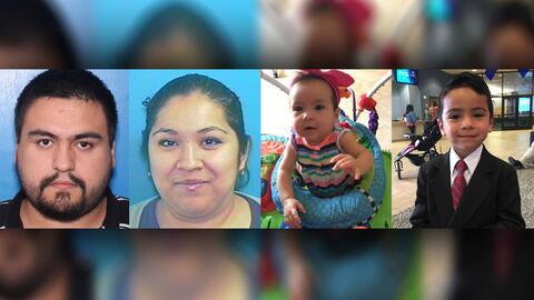 Luis y Andrea Ramírez secuestraron a sus hijos Luis Jr, de 5 a&nt...
