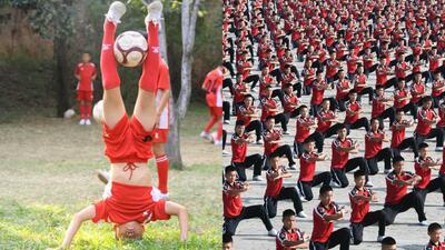 Deporte al estilo shaolín, entre lo espectacular y lo tradicional