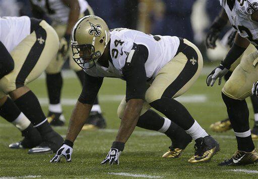 Cameron Jordan, ala defensiva de los New Orleans Saints (AP-NFL)
