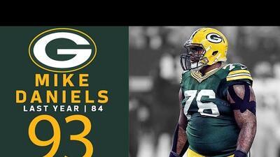 #93 Mike Daniels (DT, Packers) | Top 100 Jugadores NFL 2018