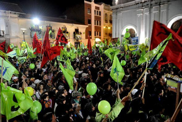 Ante miles de seguidores, el presidente ecuatoriano declaró que '...