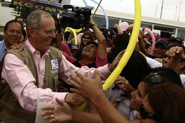 Kuczynski es un economista y político reconocido en Perú. El candidato y...
