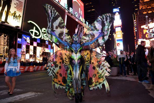La noche de Halloween, la ciudad de Nueva York fue sorprendida por una g...