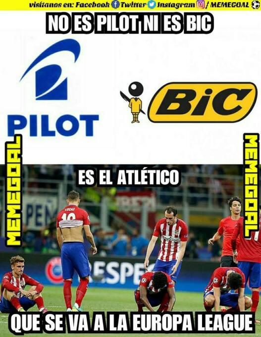 El Atlético se va a Europa League y los memes no se lo perdonaron 243009...
