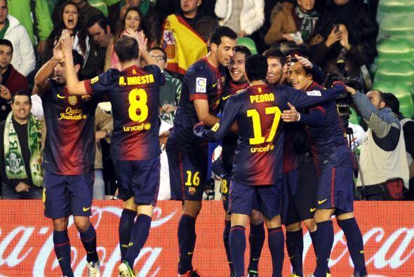 Messi le daba la ventaja al Barcelona y se ponía a la par del 'Torpedo'...