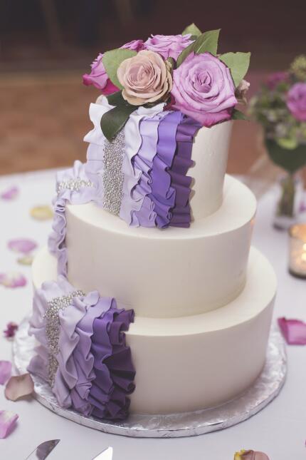 Tendencia 2016 en pasteles de boda