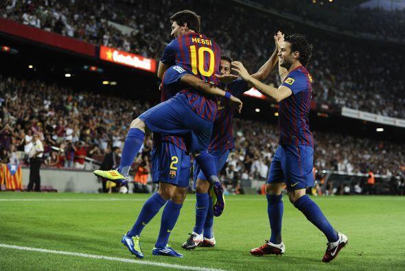 El cuadro vasco no fue rival y Messi hizo tres goles, así como repartió...