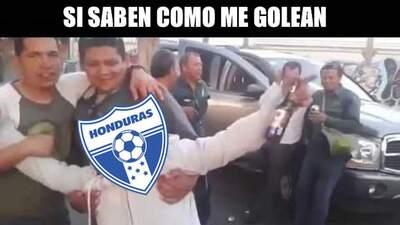 ¡Pobre Honduras! Hasta los memes los golearon en burlas