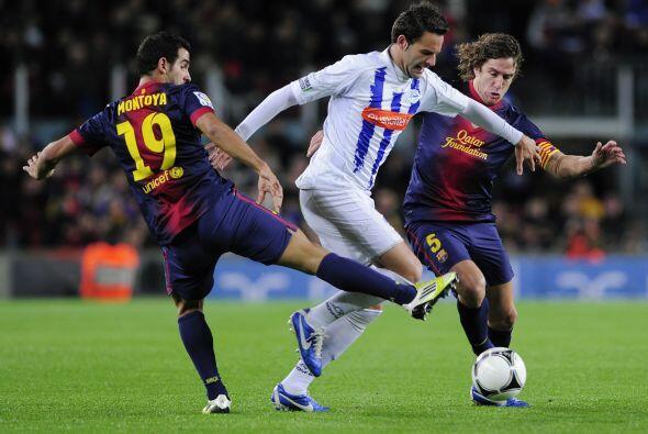 El partido de ida acabó con ventaja 'blaugrana' de 3-0 en Vitoria.