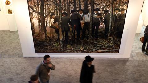 'Mourning and Fecundity', de Vincent Desiderio, en Nueva York.