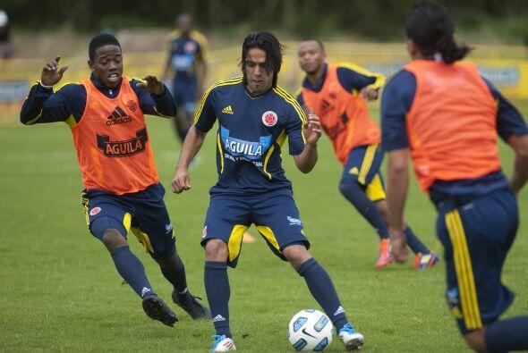 El equipo colombiano entrena y aspira a algo grande, su figura es Radame...