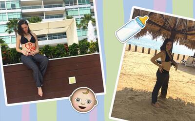 Elizabeth Valdez anunció su embarazo el 22 de noviembre a trav&ea...