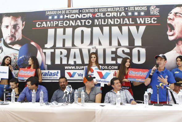 Jhonny González y Jorge 'Travieso' Arce dieron la última conferencia de...
