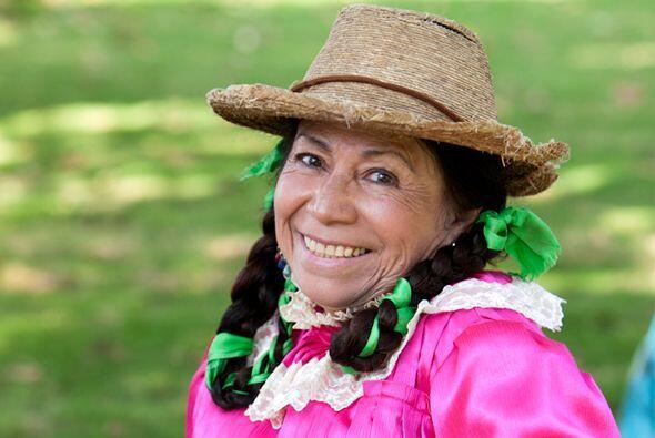 """María Elena Velasco, mejor conocida como """"La India María"""",  falleció est..."""