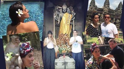 Galilea Montijo vacaciones por Tailandia