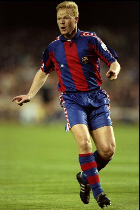 Temporada 1993/1994 - Ronald Koeman (F.C. Barcelona) con 8 goles