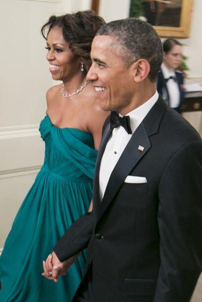 Michelle Obama se ha caracterizado por ser una de las mujeres más sencil...