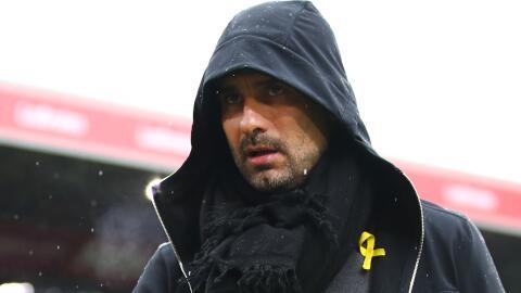 Guardiola lazo amarillo