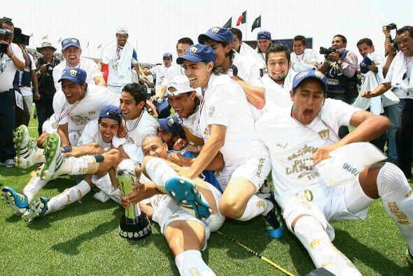 La gloria más reciente de Pumas se presentó en el Clausura 2011. Se mant...