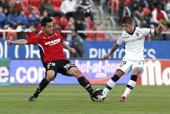 En el otro partido, Valencia superó al Mallorca 2 a 1.