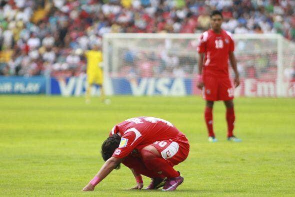 Tristeza panameña en el Mundial Sub 17, el seleccionado cay&oacut...