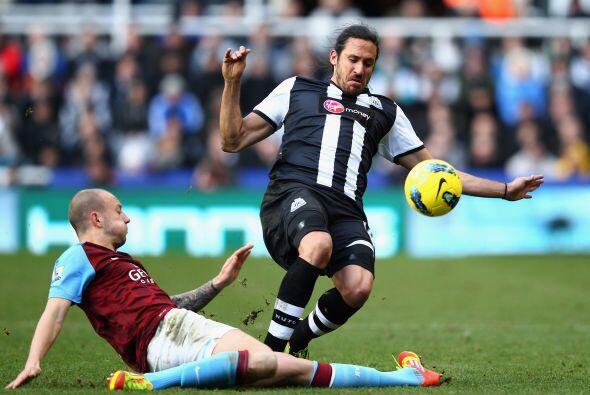 En el otro juego del día, el Newcastle recibió al Aston Villa.
