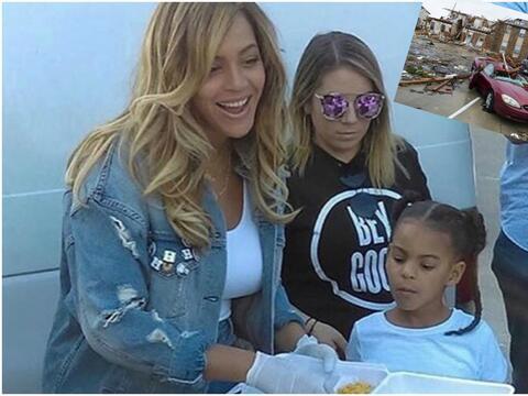 Beyonce ayuda