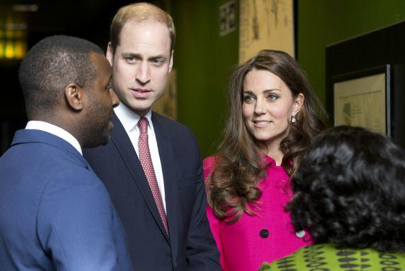 Fue un día ocupado para William y Kate.