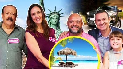 Un viaje a Nueva York y una camioneta se les fueron de las manos, pero un paraíso tropical espera a esta familia