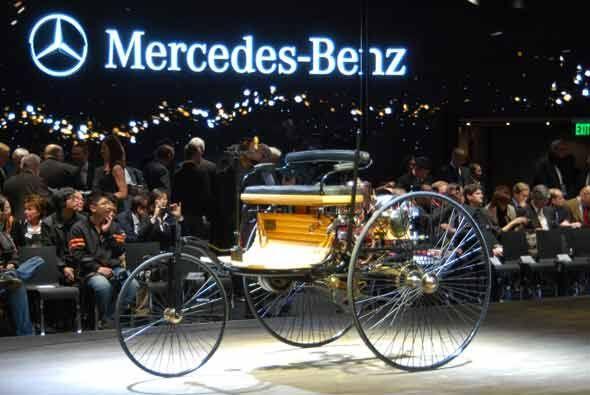 El momento de nostalgia corrió a cuenta del Patent-Motorwagen de 1886.