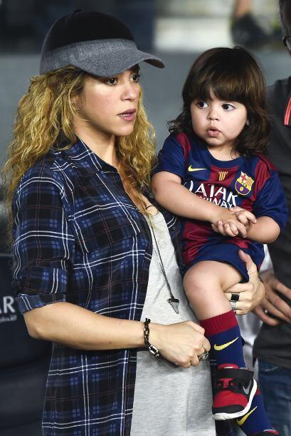Pero Milan seguro se conforma con ver jugar a su papá.