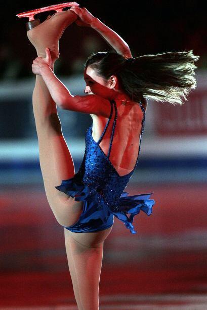 Sasha llega a la élite del patinaje con su medalla de plata en el...