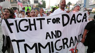 ¿Cuál es la situación migratoria actual de personas amparadas con DACA y TPS?