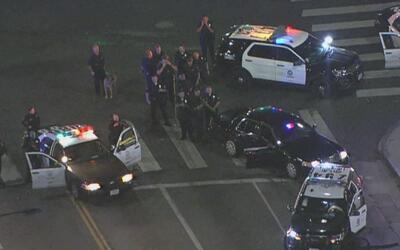 En persecuciones termina el robo de dos patrullas de la policía en Los Á...
