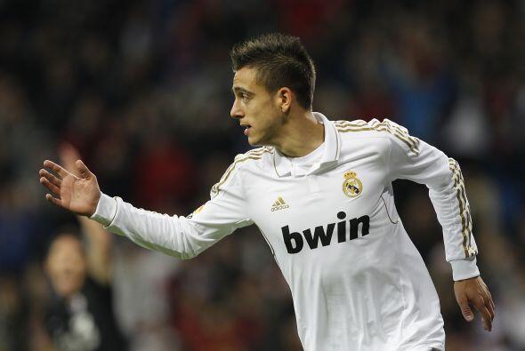 Joselu, otro de los tantos canteranos madridistas, puso el cuarto gol de...