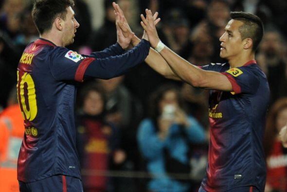 El Barcelona ganó un partido poco complicado al Deportivo La Coru...