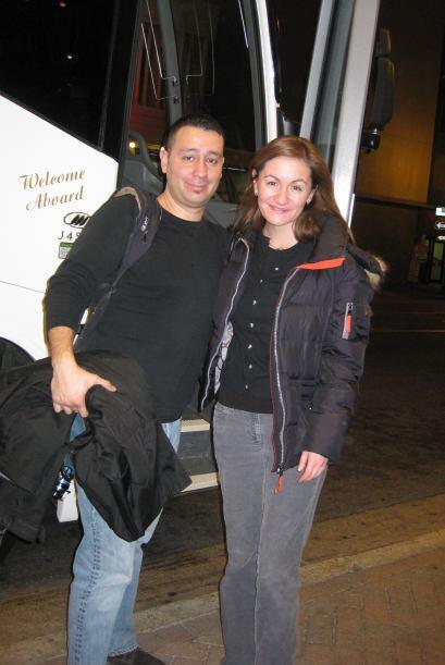 Paula Gómez viajó junto con el camarógrafo Lauro López a Memphis, Tennes...