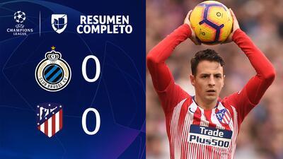 Club Brujas 0-0 Atlético de Madrid - RESUMEN - Grupo A - UEFA Champions League