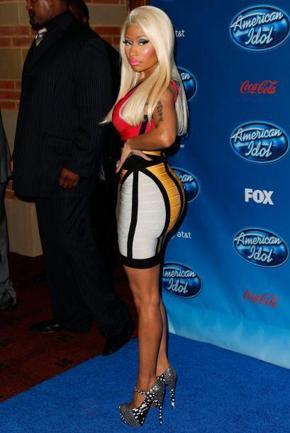 Nicki Minaj no sólo es veloz en sus 'raps', también cuando sale a correr...