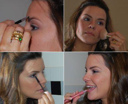 ¡A trabajar!Un buen maquillaje en la oficina se puede lograr en pocos pa...
