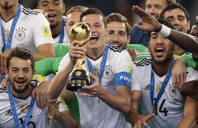 Con un equipo alterno, Alemania se consagró como campeona de la Copa Con...
