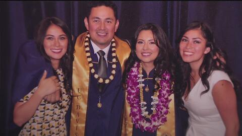 Familia guatemalteca, unida por el sueño americano