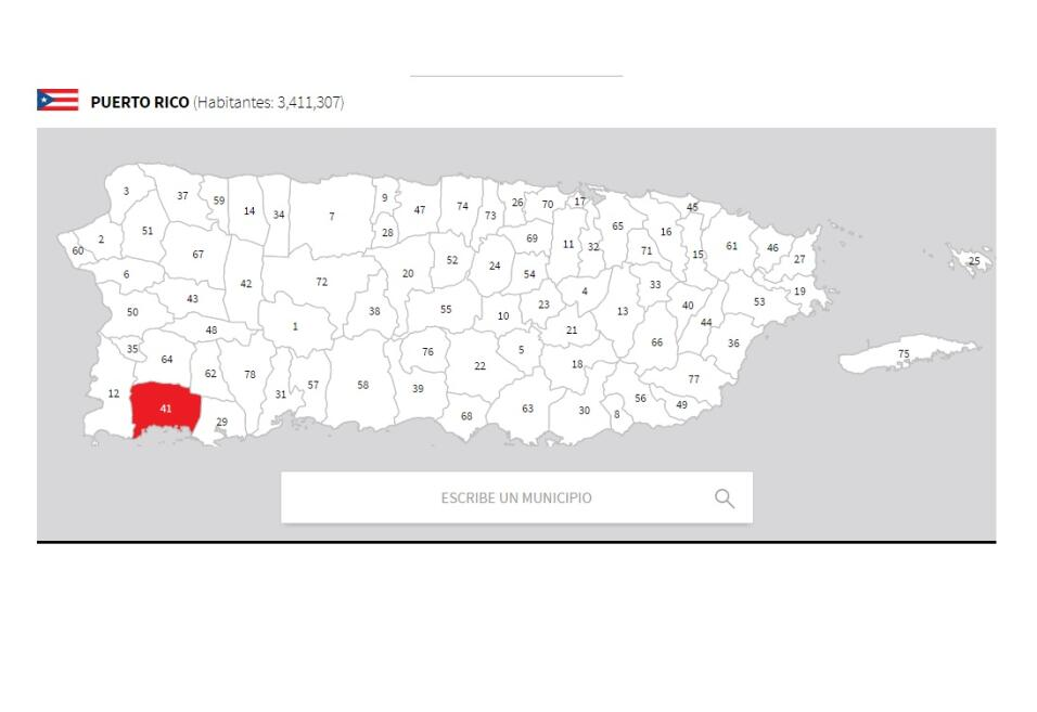puerto rico mapa lajas