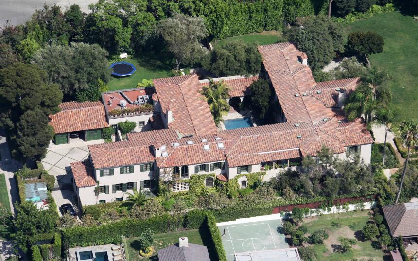 Antonio Banderas y Melanie Griffith casa