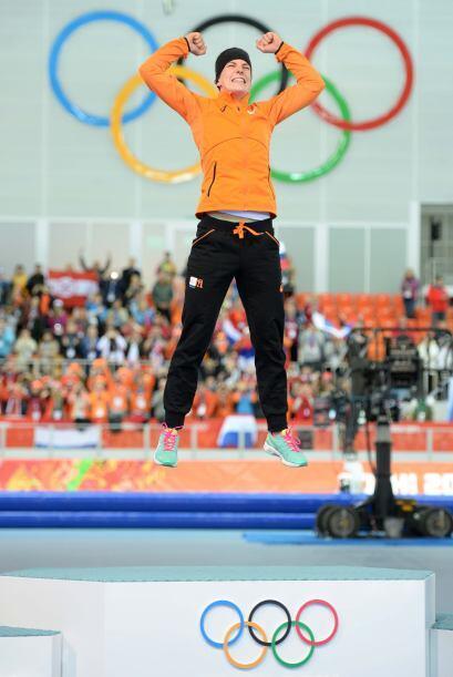 Irene Wust con su victoria en los 3000 metros demostró que la velocidad...