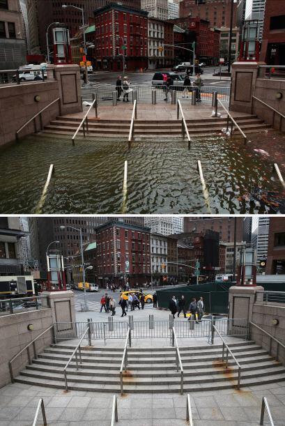 Como si se tratara de una película apocalíptica de Hollywood, la Plaza S...