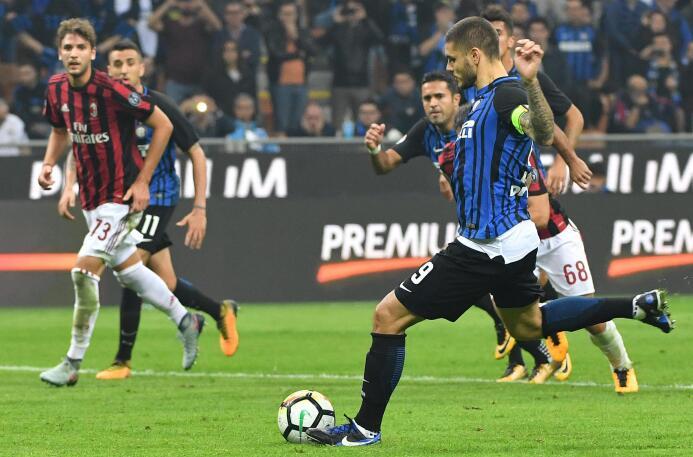 Mauro Icardi fue el héroe del Inter en el 'Derbi della Madonnina' 636437...