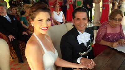 Esta es la primera foto oficial de Ana Patricia y Luis Martínez c...