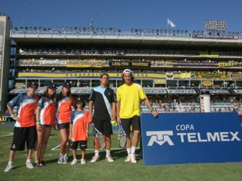 Una de las actividades dentro en la Copa Telmex de Buenos Aires, fue un...