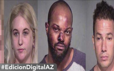 Autoridades arrestan a cuatro personas tras caos en el centro de Phoenix